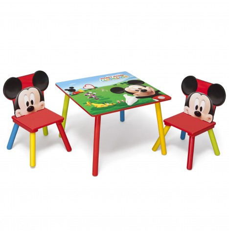 Delta Children Table & Chairs Set - Disney Mickey Mouse