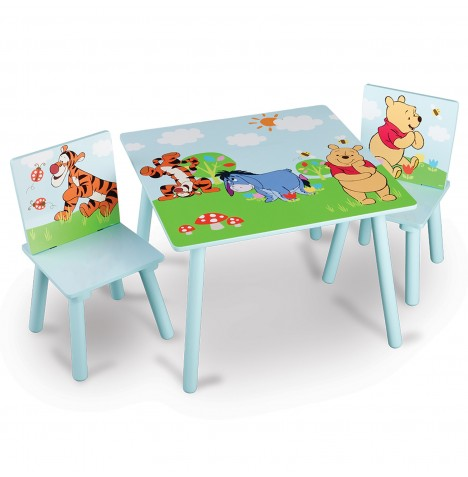 Delta Children Table & Chairs Set - Disney Winnie The Pooh