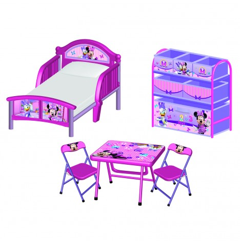 Delta Children 3 Piece Room Set - Disney Minnie Mouse