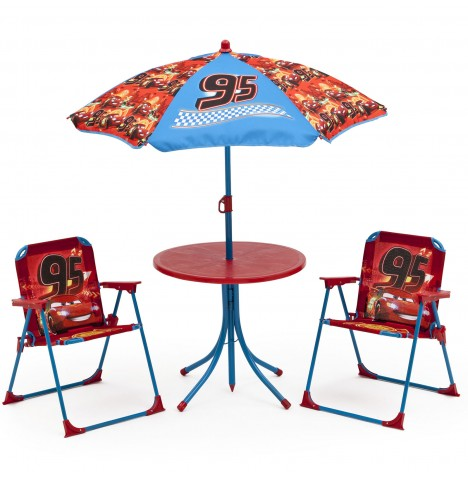 Delta Children Outdoor Patio Set - Disney Pixar Cars