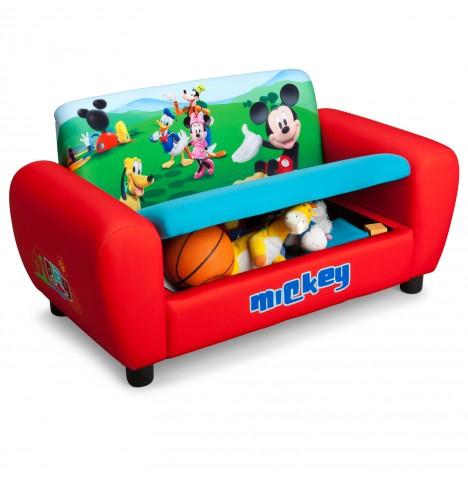 New Delta Children Disney Mickey Mouse Childs Upholstered