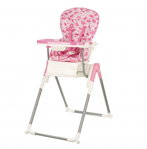 Obaby NanoFold Hi Lo Chair - Cup Cakes Pink