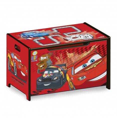 Delta Children Wooden Toy Box - Disney Pixar Cars