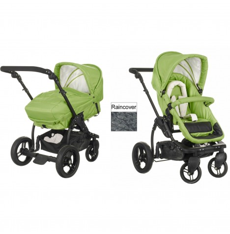 Obaby ZeZu Multi 2in1 Pramette Pushchair - Lime