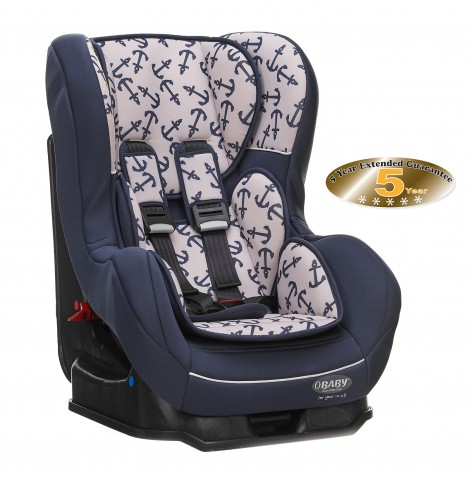 Obaby Group 0/1 Combination Car Seat - Little Sailor