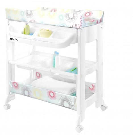 New 4baby Splashy Changing Station Baby Storage Mat And Bath Starburst Ebay
