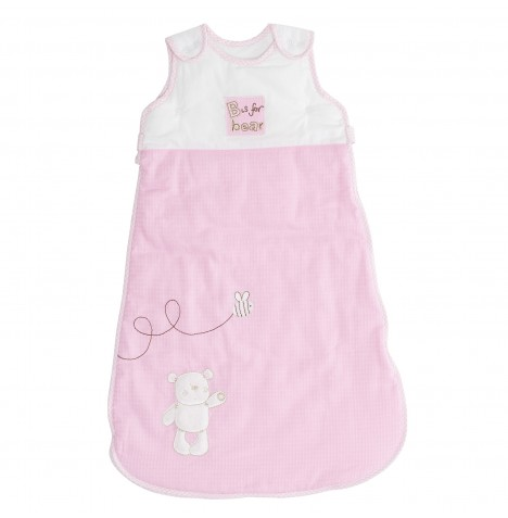 Obaby B Is For Bear Sleeping Bag 0 - 6 Months - Pink
