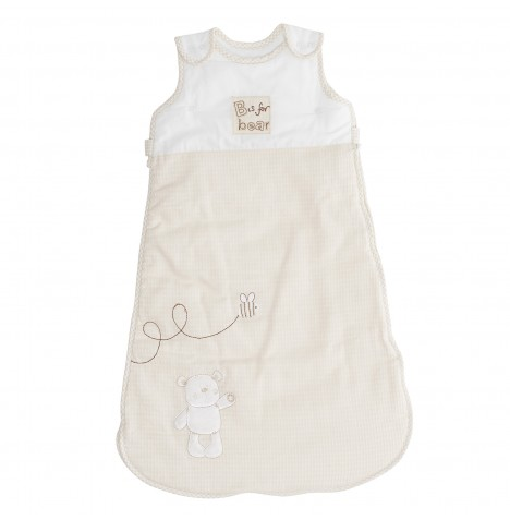 Obaby B Is For Bear Sleeping Bag 6 - 18 Months - Cream