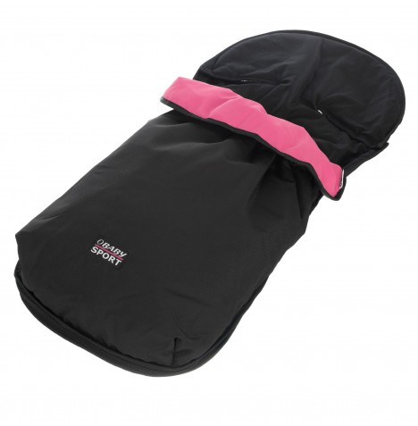 Obaby Pushchair Footmuff - Sport Pink