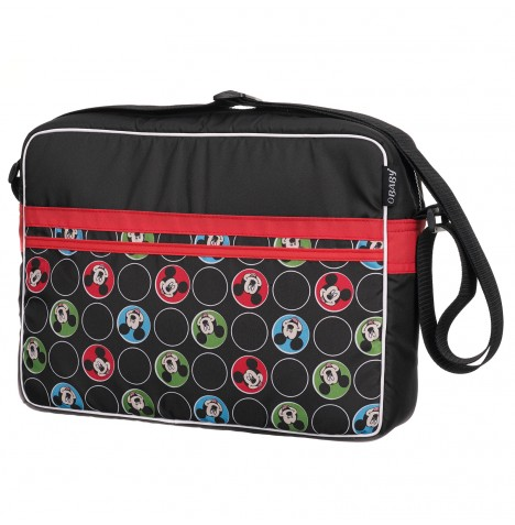 Obaby Disney Changing Bag - Mickey Circles Red