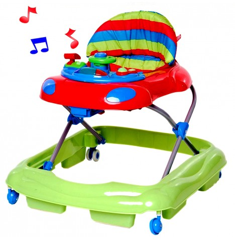 Red Kite Baby Go Round Vroom baby Walker - Red
