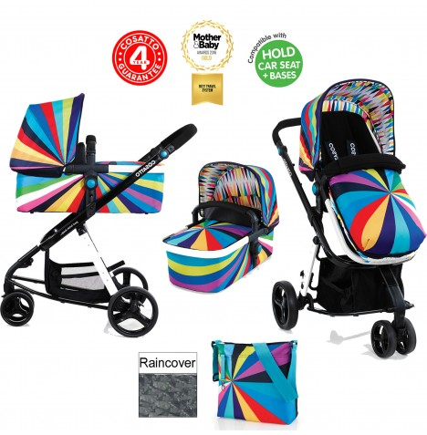 Cosatto Giggle 2 Combi 3 in 1 Pushchair - Go Brightly