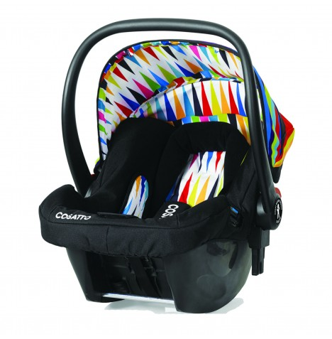 Cosatto Hold Giggle Group 0+ Baby Car Seat - Go Brightly
