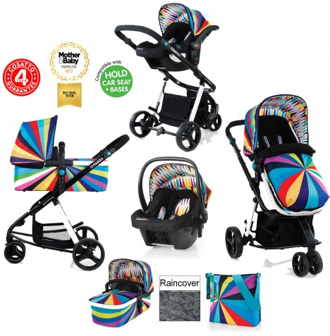 Cosatto Giggle 2 Combi 3 in 1 Travel System - Go Brightly