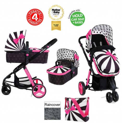 Cosatto Giggle 2 Combi 3 in 1 Pushchair - Go Lightly 2