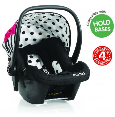 Cosatto Hold Giggle Group 0+ Baby Car Seat - Go Lightly 2