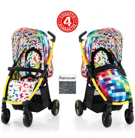 Cosatto Fly Stroller - Pixelate