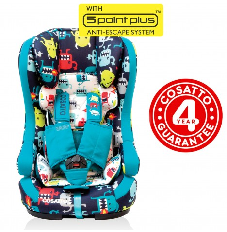 Cosatto Hubbub Group 123 ISOFIX Car Seat - Cuddle Monster 2