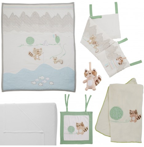 Tutti Bambini 7 Piece Cot Bed Bedding Bale - Outdoor Adventure
