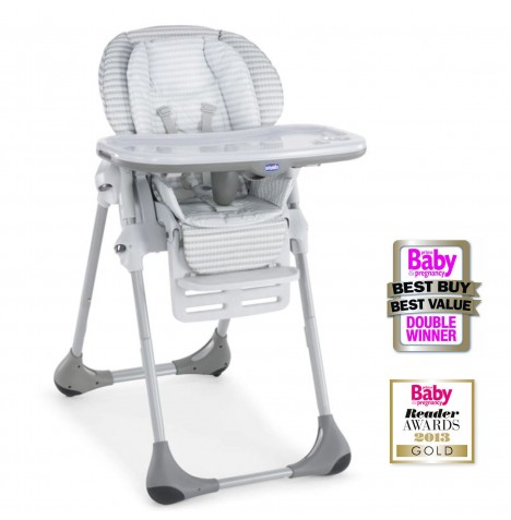 Chicco Polly 2 In 1 Compact Baby Highchair   Polaris