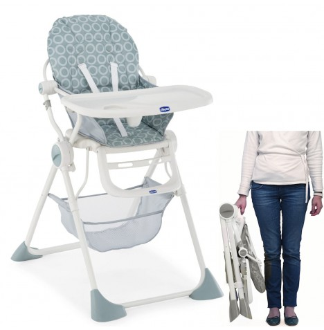 Chicco Pocket Lunch Baby Highchair - Moonlight