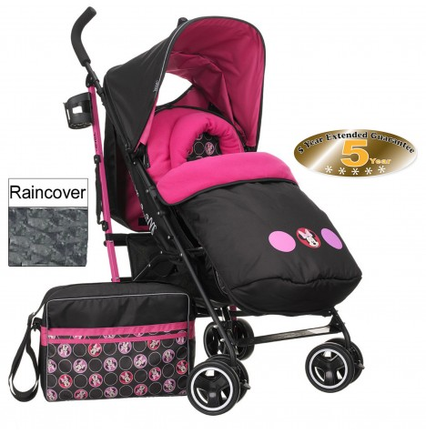 Obaby Disney Stroller Bundle - Minnie Circles