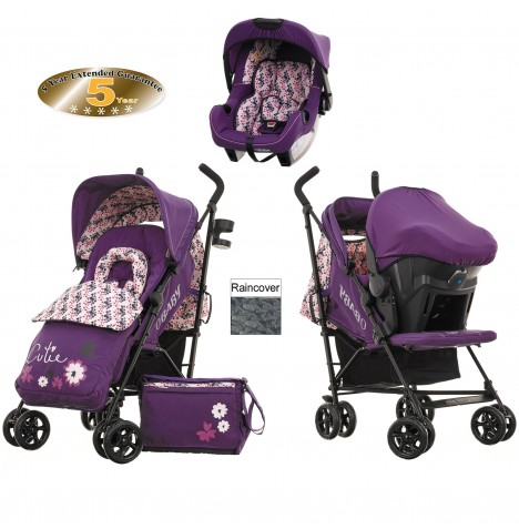 Obaby Zeal Travel System - Little Cutie