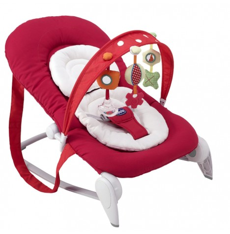 Chicco Hoopla Baby Rocker - Red