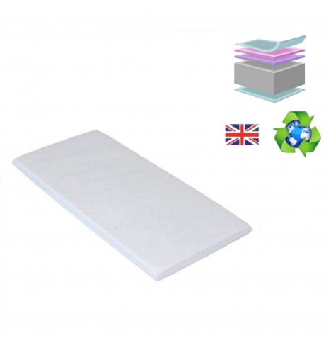 4baby Glider Crib Mattress 90 x 40 cm - Foam