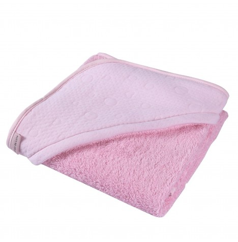 Clair De Lune Luxury Hooded Towel - Cotton Candy Pink