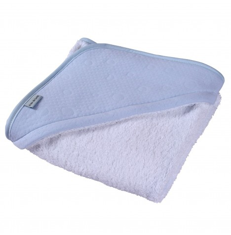 Clair De Lune Luxury Hooded Towel - Cotton Candy Blue