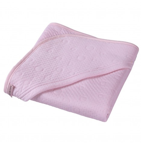 Clair De Lune Luxury Hooded Blanket - Cotton Candy Pink