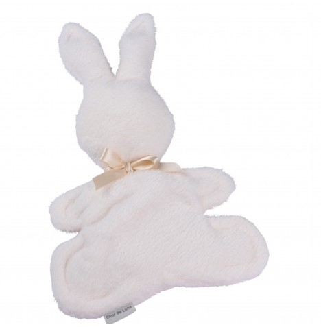 Clair de Lune Mine to Keep Plush Bunny Comforter - Cream