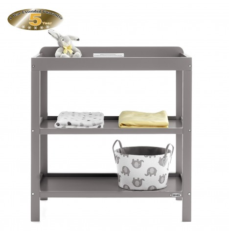 Obaby Open Changing Unit - Taupe Grey
