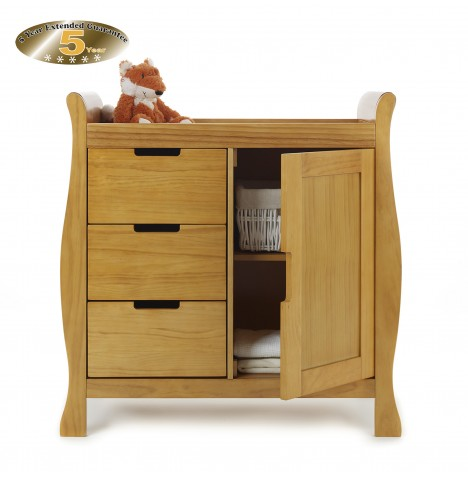 Obaby Closed Stamford Changing Unit - Country Pine