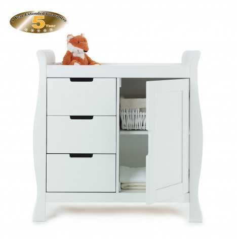 Obaby Closed Stamford Changing Unit - White