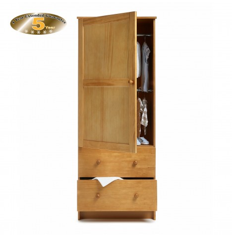 Obaby Single Wardrobe - Country Pine