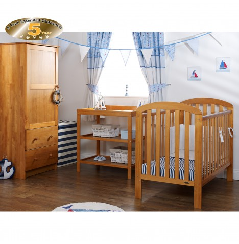 Obaby Lily 3 Piece Room Set - Country Pine