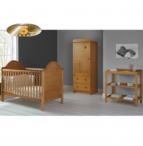 Obaby B is for Bear 3 Piece Room Set - Country Pine