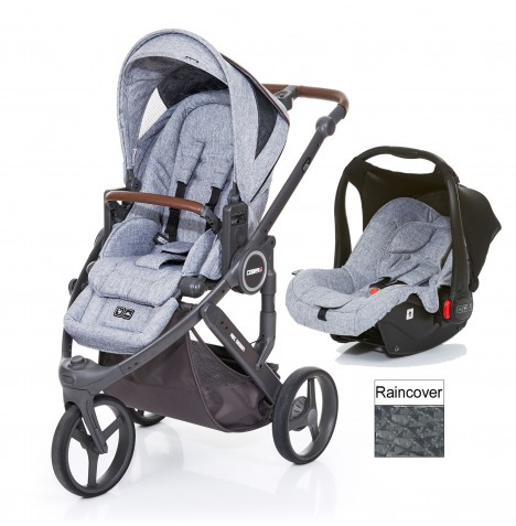ABC Design Cobra Plus Travel System - Graphite Grey