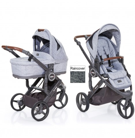 ABC Design Cobra Plus Pushchair + Carrycot - Graphite Grey