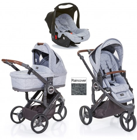 ABC Design Cobra Plus Travel System + Carrycot - Graphite Grey