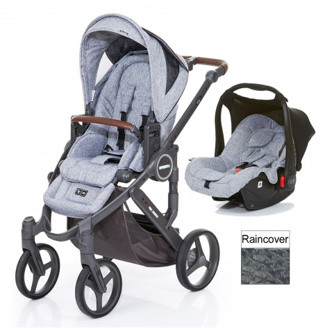 ABC Design Mamba Plus Travel System - Graphite Grey