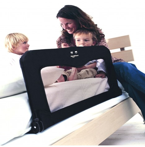 Babydan Sleep n Safe Folding Bed Guard - Black