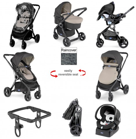 Chicco Urban Plus Travel System - Dune