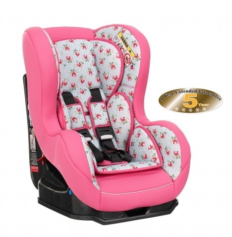 Obaby Group 0/1 Combination Car Seat - Cottage Rose