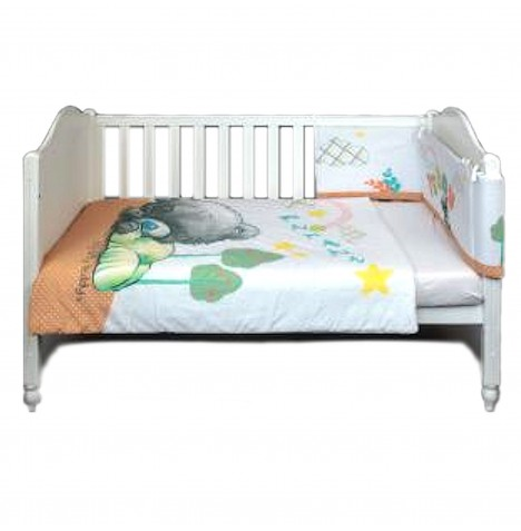 Me To You 3 Piece Cot / Cotbed Bedding Set - Tiny Tatty Teddy