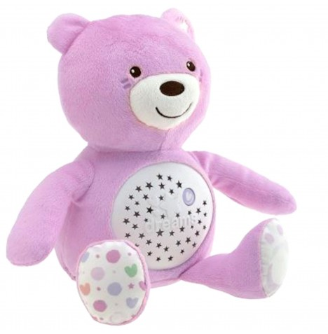 Chicco Baby Bear Projector - Pink