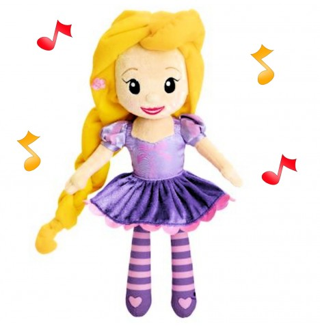 Chicco Disney Princess Melodies Doll - Rapunzel