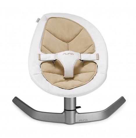 Nuna Leaf Rocker / Bouncer Chair - Bisque